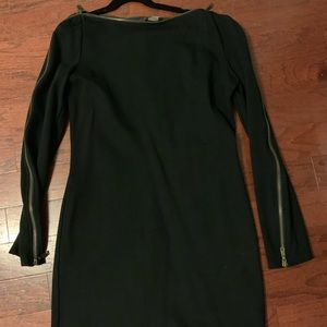 Rachel Zoe black zipper dress